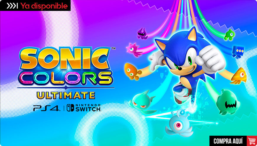 Banner Sonic Colors