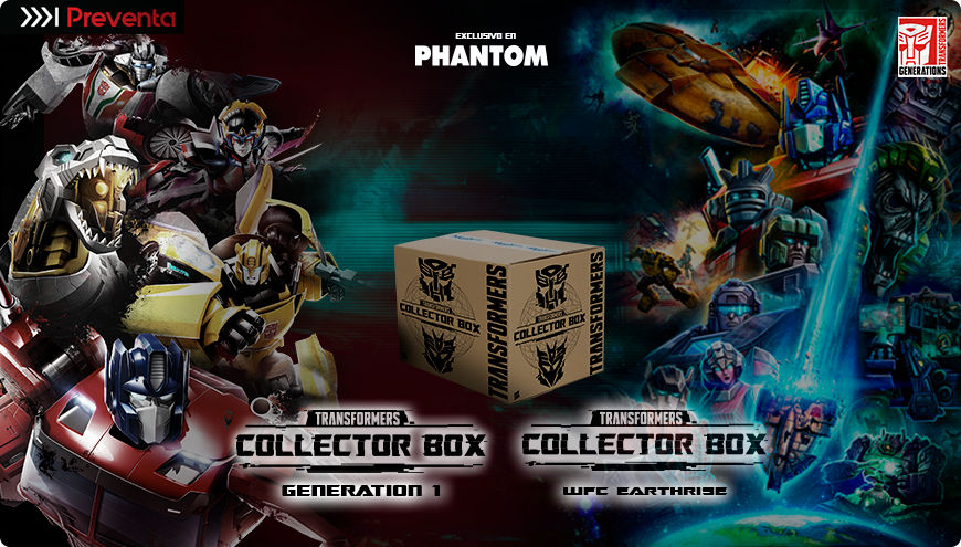 Transformers Collector Box